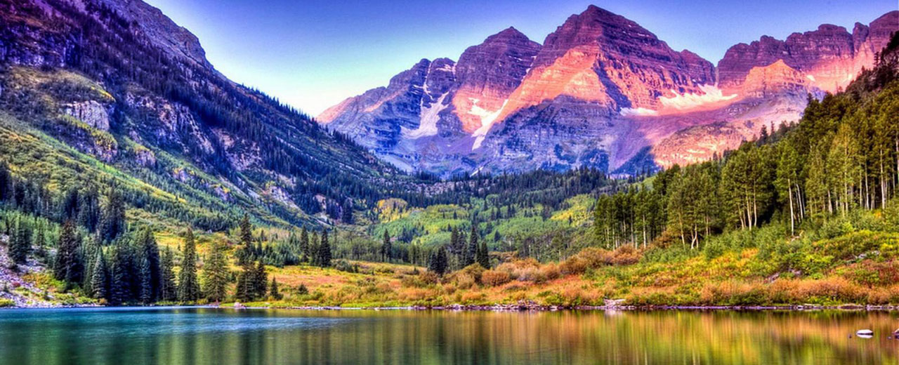 Visual Image of Colorado mountains.