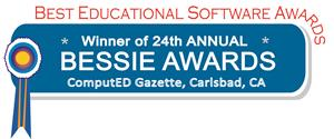 Winner of the 24th Annual 2018 BESSIE AWARDS for best Academic Management Website in the Teacher Tools category!